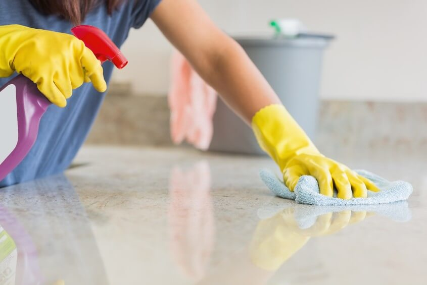 best tips for bond cleaning